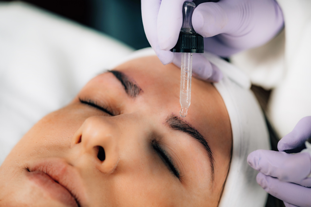 Microblading finition